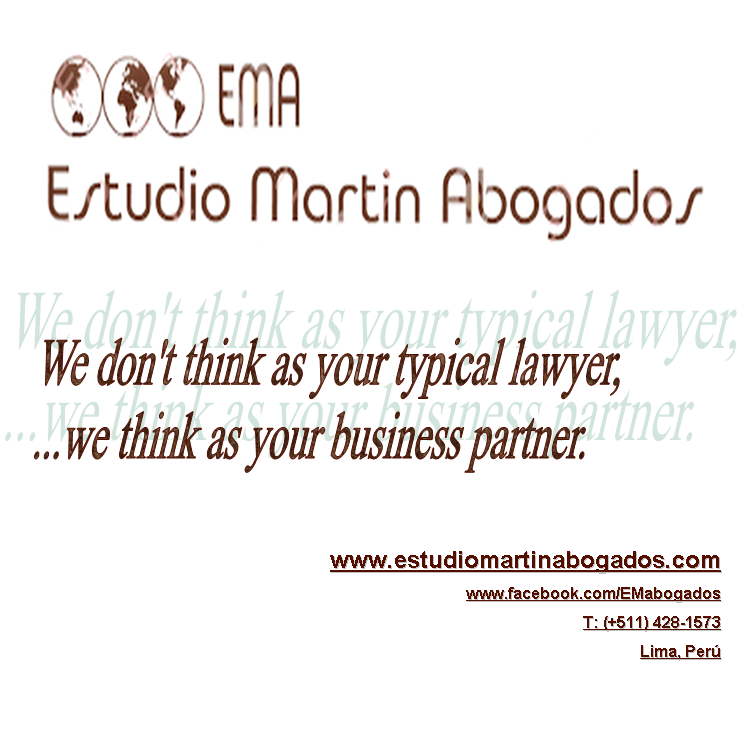 EMA - Estudio Martin Abogados - Not your typical lawyer but your business partner